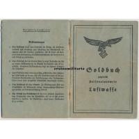 Priest Soldbuch & Wehrstammbuch
