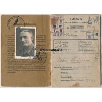 KIA Flak Soldbuch Rhine 1945