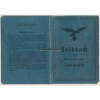 Female Reichsangestellte Luftwaffe Soldbuch