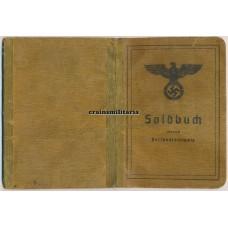 Ardennes POW Soldbuch 26.VGD, 12.VGD