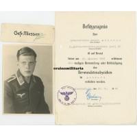 Luftnachrichten document & photo grouping