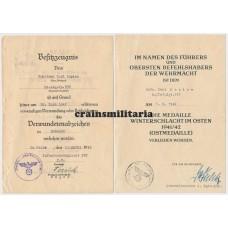 Panzerjäger award docs 331.ID