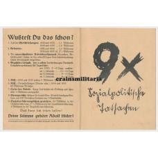 1936 Elections propaganda