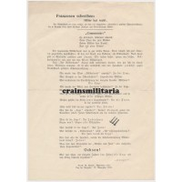 1933 Anti-Semitic & Anti-Masonic propaganda leaflet