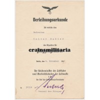 Transportflieger award document grouping