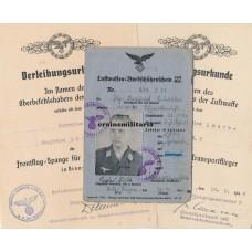 Transportflieger award doc grouping