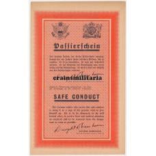 Allied propaganda leaflet - Passierschein