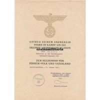 Heldentod document 265.ID Normandy