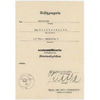 9.ID Infanterie-Sturmabzeichen document