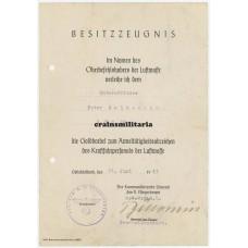 Goldkordel document ZG26 Italy
