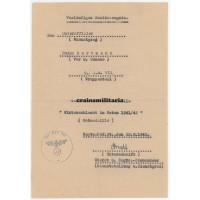 Ostmedaille document 293.ID
