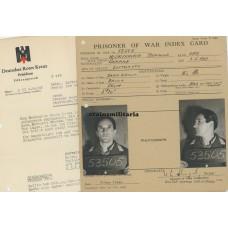 Pilot document grouping, POW England 1941