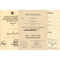 1.Pz.Div. Nahkampfspange citation grouping