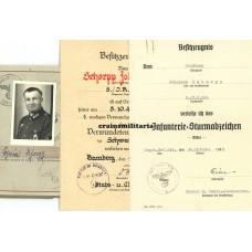 198.ID Wehrpass grouping