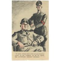 Allied propaganda leaflet - Hitlers Freibrief für die SS