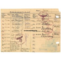 Nahkampftage and Sturmtage lists 69.ID