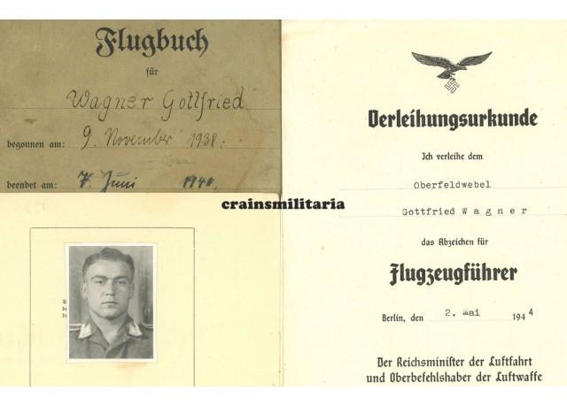 Flugbuch & Citations KG76, KIA Fw190 Pilot