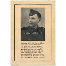 SS Panzerjäger death card