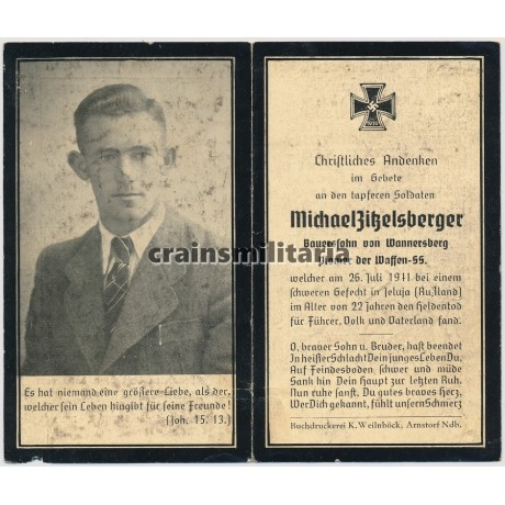 SS Pionier death card