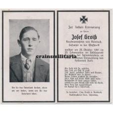 SS Gefreiter death card