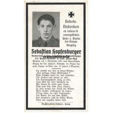 SS Panzer Death card