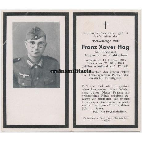 KIA Priest death card