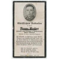 France 1940 death card 45.ID
