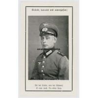 Westwall 1944 death card